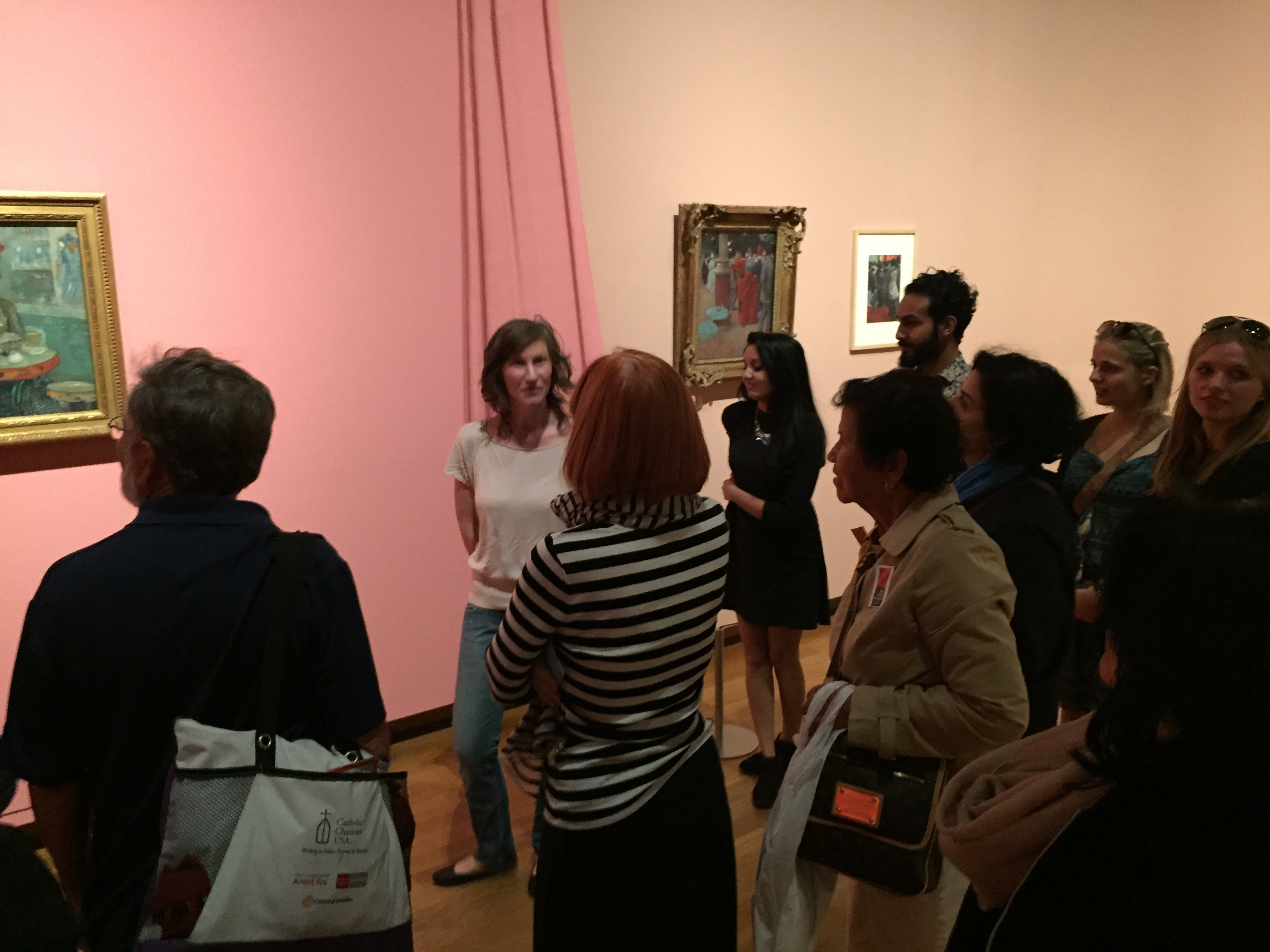 "Group tour of ""Easy Virtue"" Exhibition"