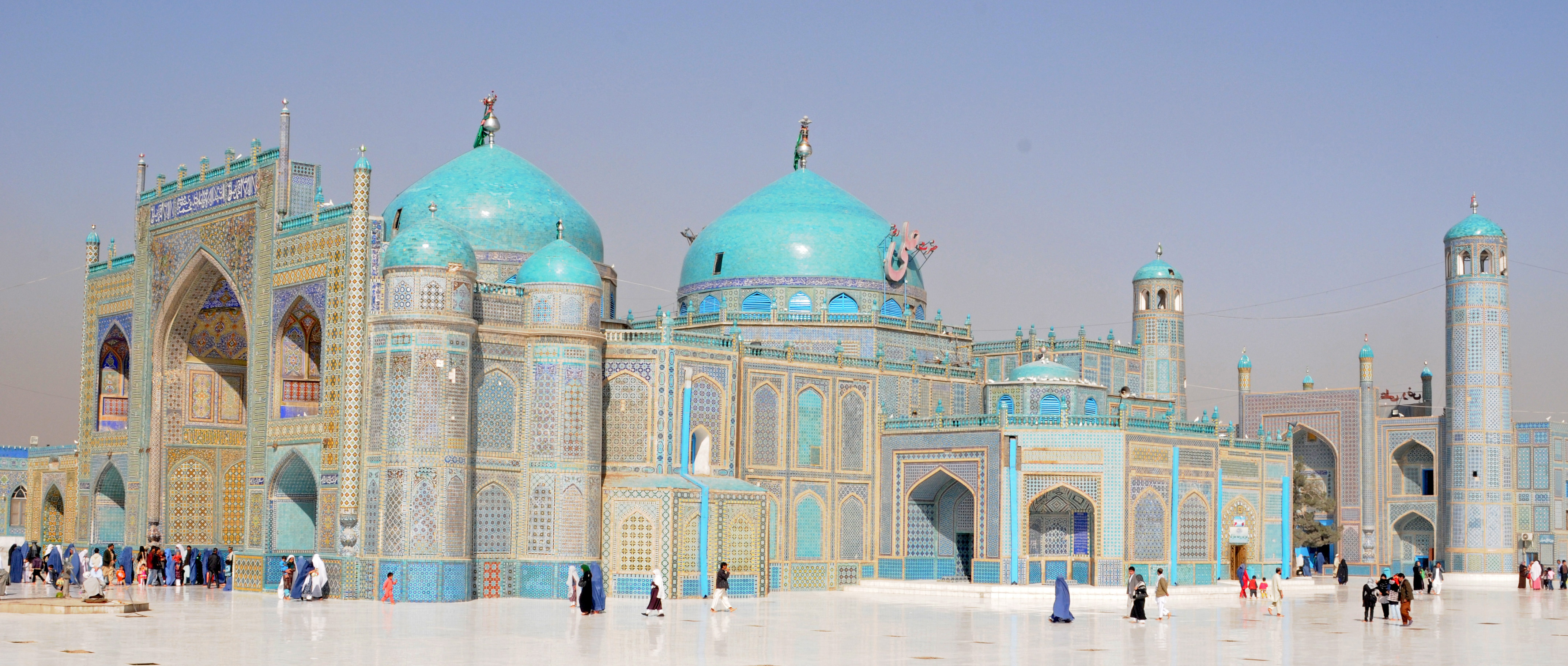 blue mosque afghanistan